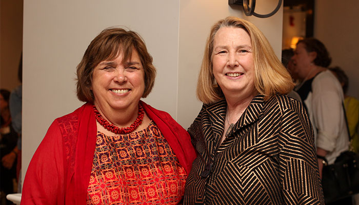 Marybeth Schroeder and Sheila Merry