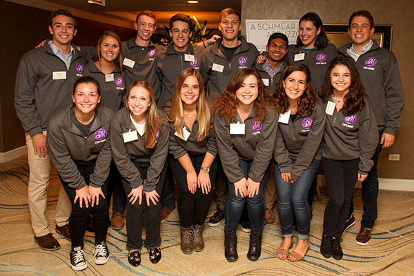 Northwestern University Dance Marathon Executive Board (Photo by Jill Norton Photography)